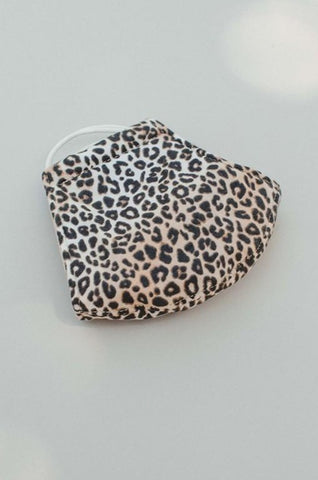 Leopard Face Mask {adult/teen}