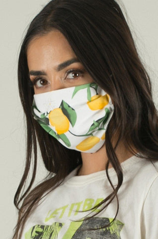 Lemon Face Mask {adult/teen}