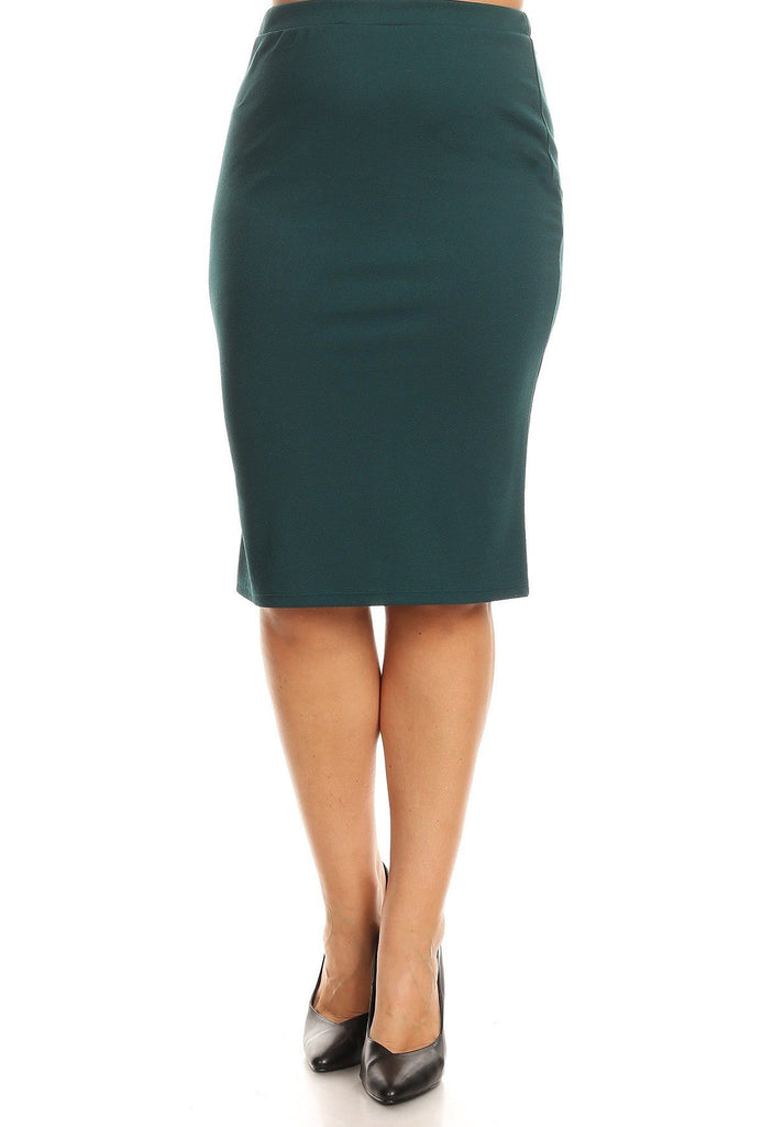 Essential Skirt in Green - 27""