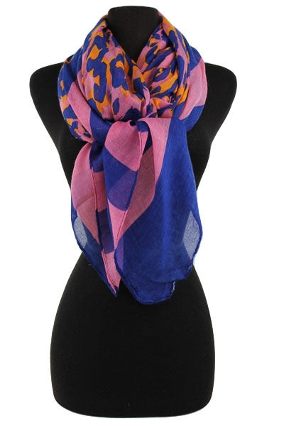 Scarf ~ Striped Leopard {4 colors}
