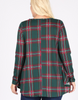 Christmas Plaid Top (XL-3X)