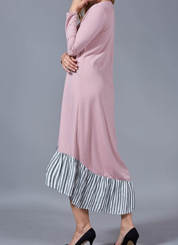 Camilla Dress ~ Dusty Pink