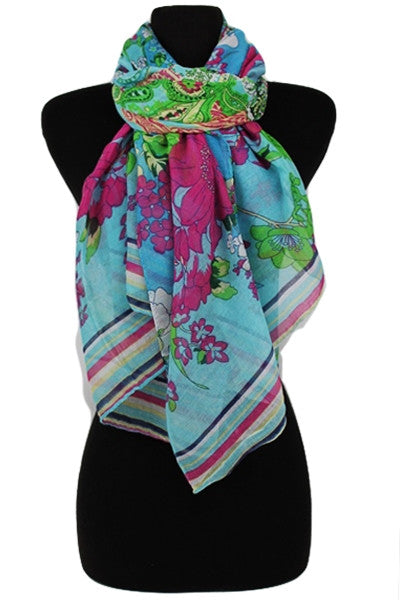 Scarf ~ Paisley {4 colors}