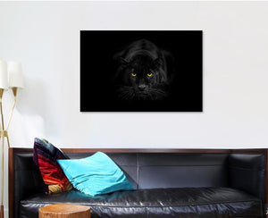 Black Panther - Animal Canvas Art Wall Decor
