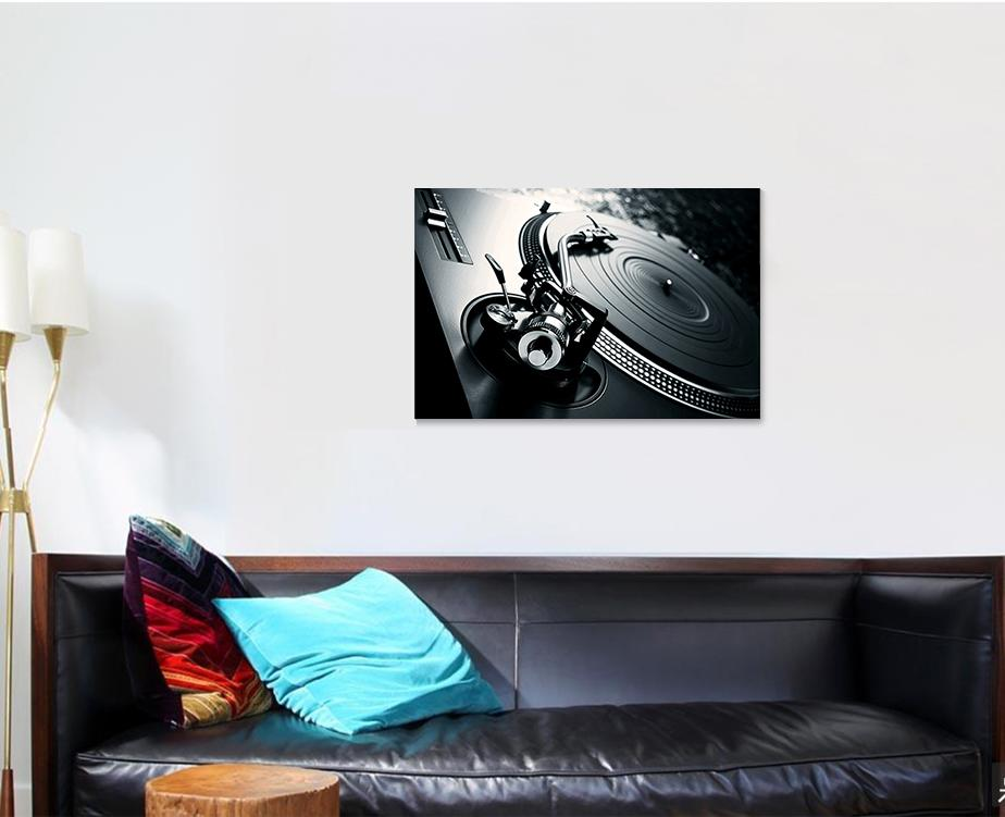 Dj Turntable 1 - Music Canvas Art Wall Decor