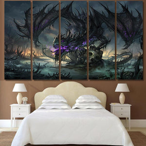Dragon 1 - Abstract Canvas Art Wall Decor