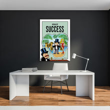 Load image into Gallery viewer, Bitcoin Edition - Visualize Success - Monopoly Man Art