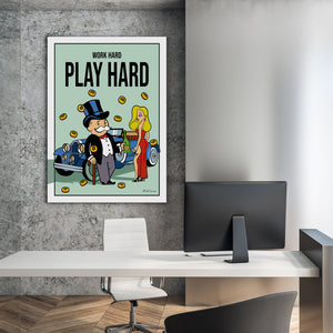 Bitcoin Edition - Work Hard Play Hard