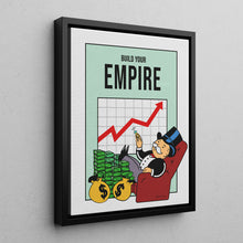 Load image into Gallery viewer, Build Your Empire - Monopoly Man Art