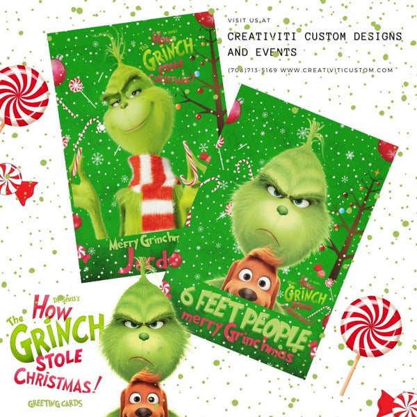 Creativiti Grinchmas Greeting Card