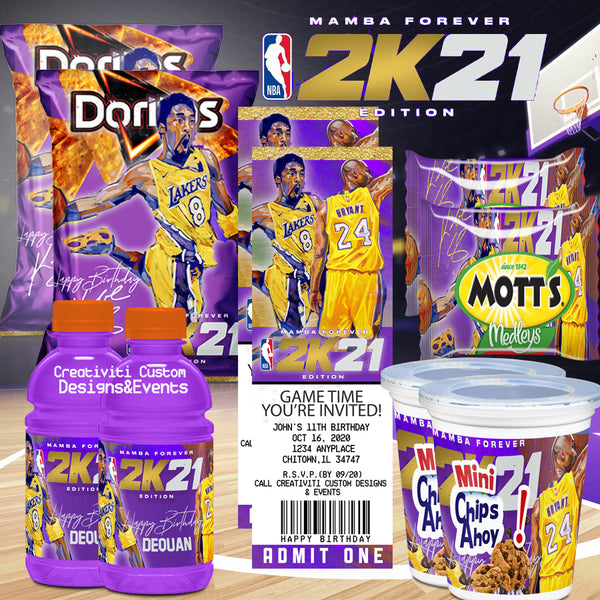 NBA 2K21 Birthday Party