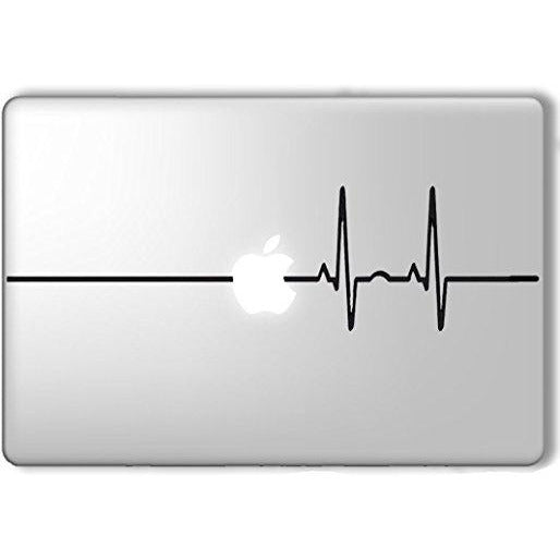 Laptop Decal Sticker ECG