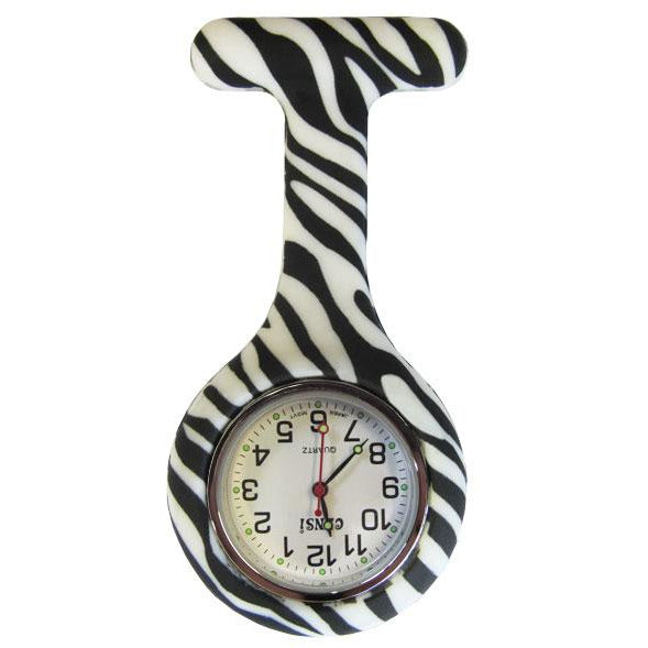 Gel Watch in Zebra Print