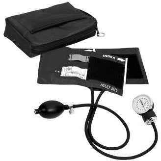 Aneroid Sphyg + Case - 882 Black