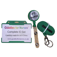 GfN EXCLUSIVE 'Nurse' ID Set in Green