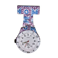 Neon Paisley Fob Watch