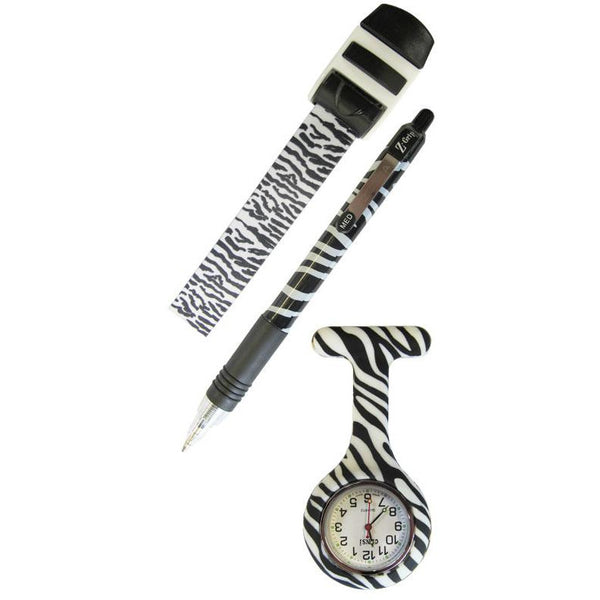 Zebra Pen, Watch and Tourniquet Set