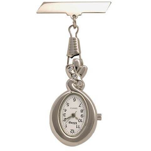 Bling Droplet Fob Watch