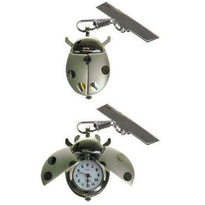 GfN Silver Ladybird Watch