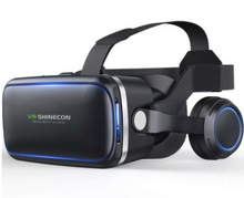 Load image into Gallery viewer, VR SHINECON-VR glasses with + remote controller,Compatible with 4.7-6.0inch IOS/Android smartphones