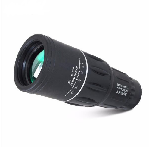 New 16x52 up and down double-tuning wide-angle enhanced green film HD high-power day and night available monoculars