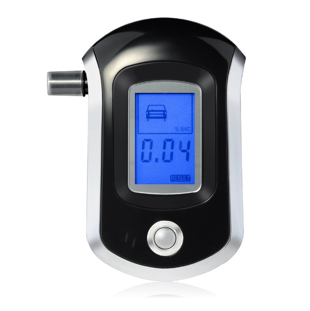 Alcohol tester breathing type household alcohol detection instrument alarm instrument mouthpiece