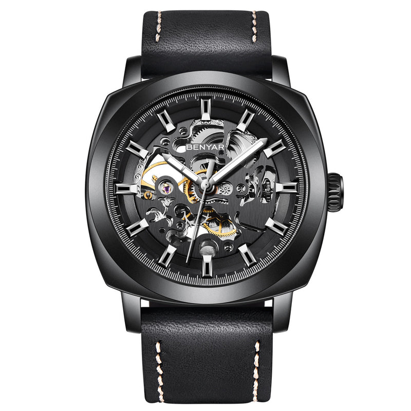 Hollow mechanical watch automatic fashion men's watch