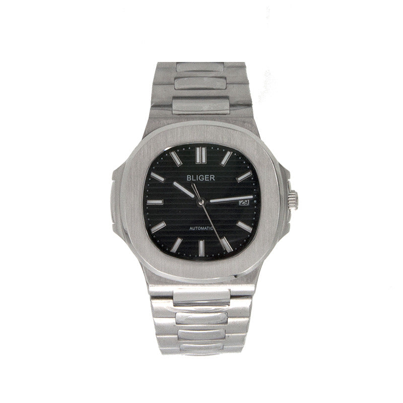 Stainless steel band men's watch
