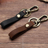 porte clefs en cuir simple