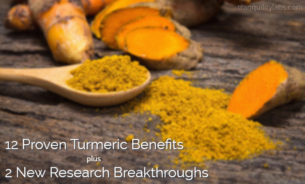 12 Proven Turmeric Benefits + 2 New Research Breakthroughs
