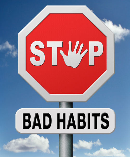 anxiety, bad habits, stress, routine, strategy