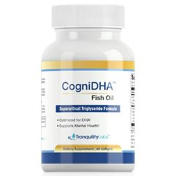 fish oil, omega 3, dha, hish DHA fish oil, cogniDHA, pure, tranquility labs, focusene, SAD, seasonal affective disorder