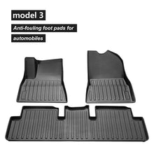 Load image into Gallery viewer, ST3ALTH 3D Floor Mats - Model 3 *fits new Model 3 Refresh 2021