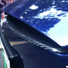 Load image into Gallery viewer, Real Carbon Fiber Middle Grille Mesh Trim Strip - Model S 14-18