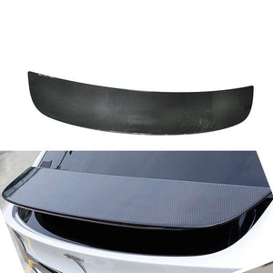 ST3ALTH  Carbon Fiber Spoiler Cover Glossy Finish - Tesla Model X 2016-20