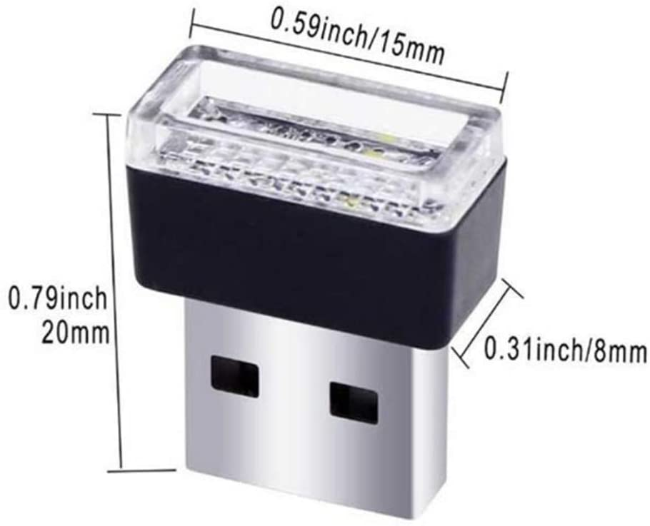 USB A LED INTERIOR LIGHTS
