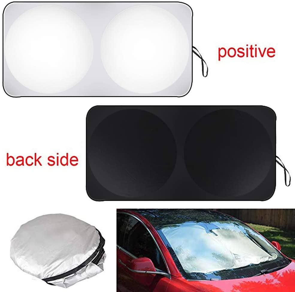 Front Windshield Shade - Model 3
