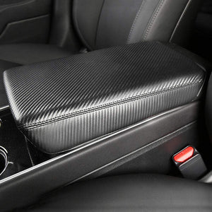 Leather Center Storage Armrest Cover - Model 3 ,Y