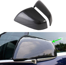 Load image into Gallery viewer, Real Carbon Fiber Side Mirror Covers - Model X
