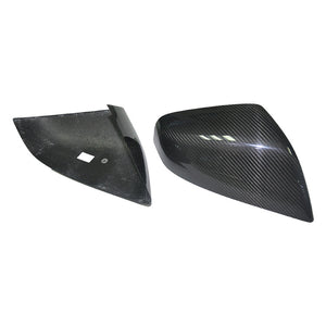 Real Carbon Fiber Rear View Mirror Cover Model 3