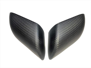 Real Carbon Fiber Side Mirror Covers - Model X
