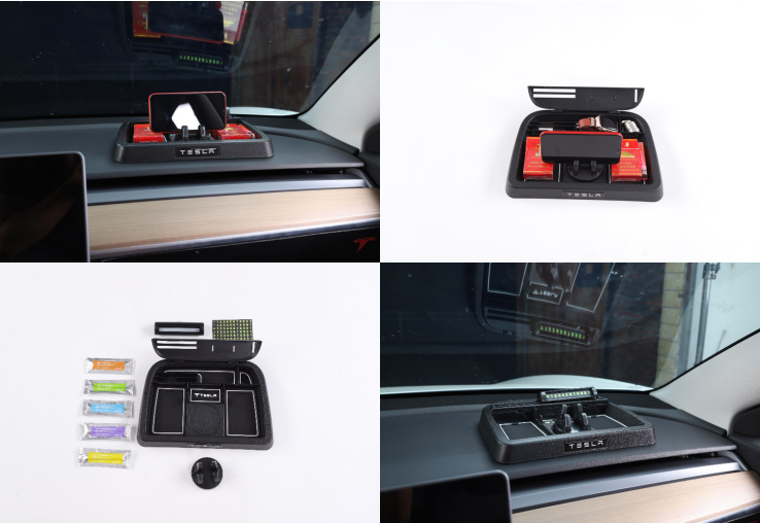 Car Dashboard Storage Box - Model 3,Y