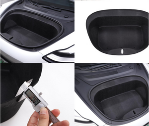 Front trunk sound insulation cotton- Frunk Insulation Model 3