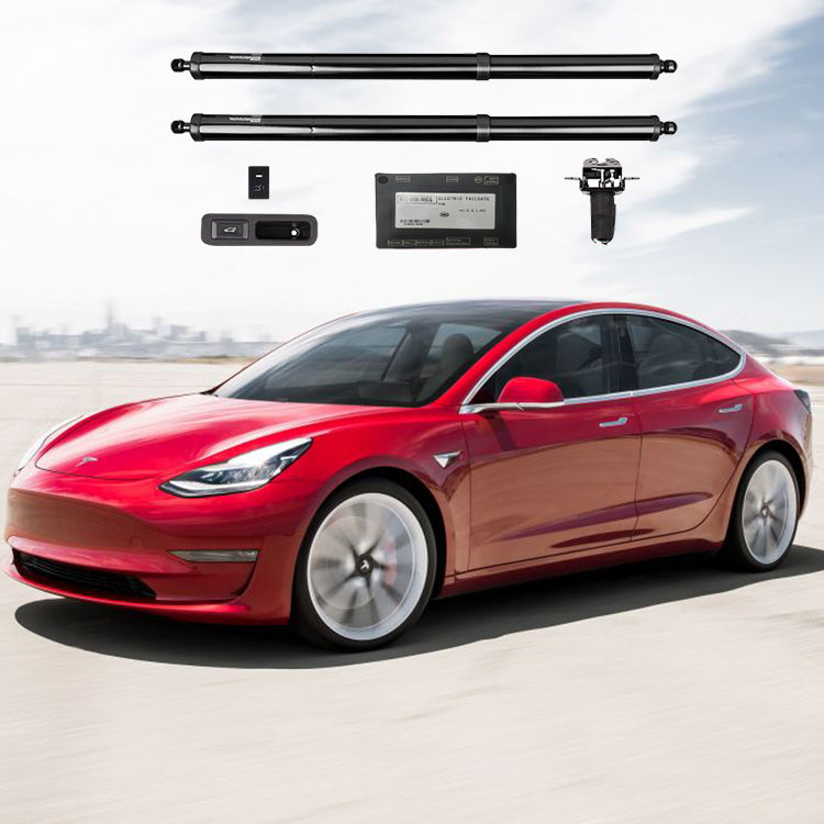 MODEL 3 HANSSHOW POWER FRUNK AND TRUNK LIFT GATE COMBO