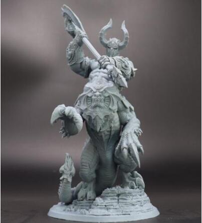Ancient Fantasy (WITH BIG BASE  ) Resin Miniature