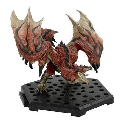 Monster Hunter World PS4 GAME Limited PVC Models Dragon Action Figure Japanese Genuine