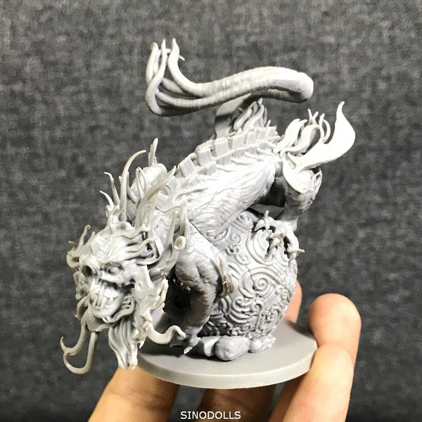 "3.5"" Monsters Pack Miniatures Wars Game Dragon Figure"