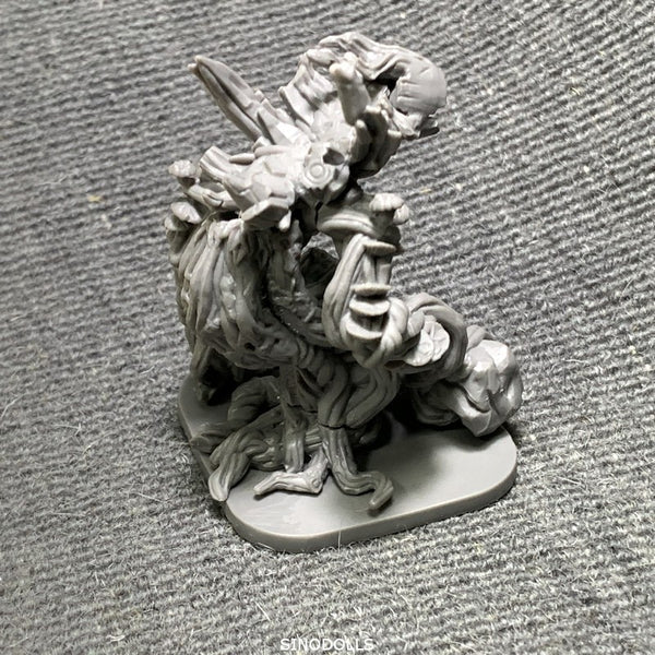 3 inch Dragon Miniatures Board Game Role-playing War Reaper Game Figures Model Toys