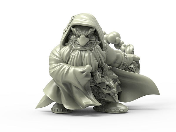 Durgin Paint Forge Iron Crow Raider 32mm Resin Miniature
