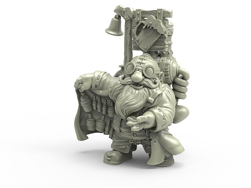 Durgin Paint Forge Brewmaster Berrant 32mm Resin Miniature